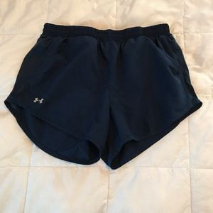 Under Armour Athletic Shorts - Navy Blue